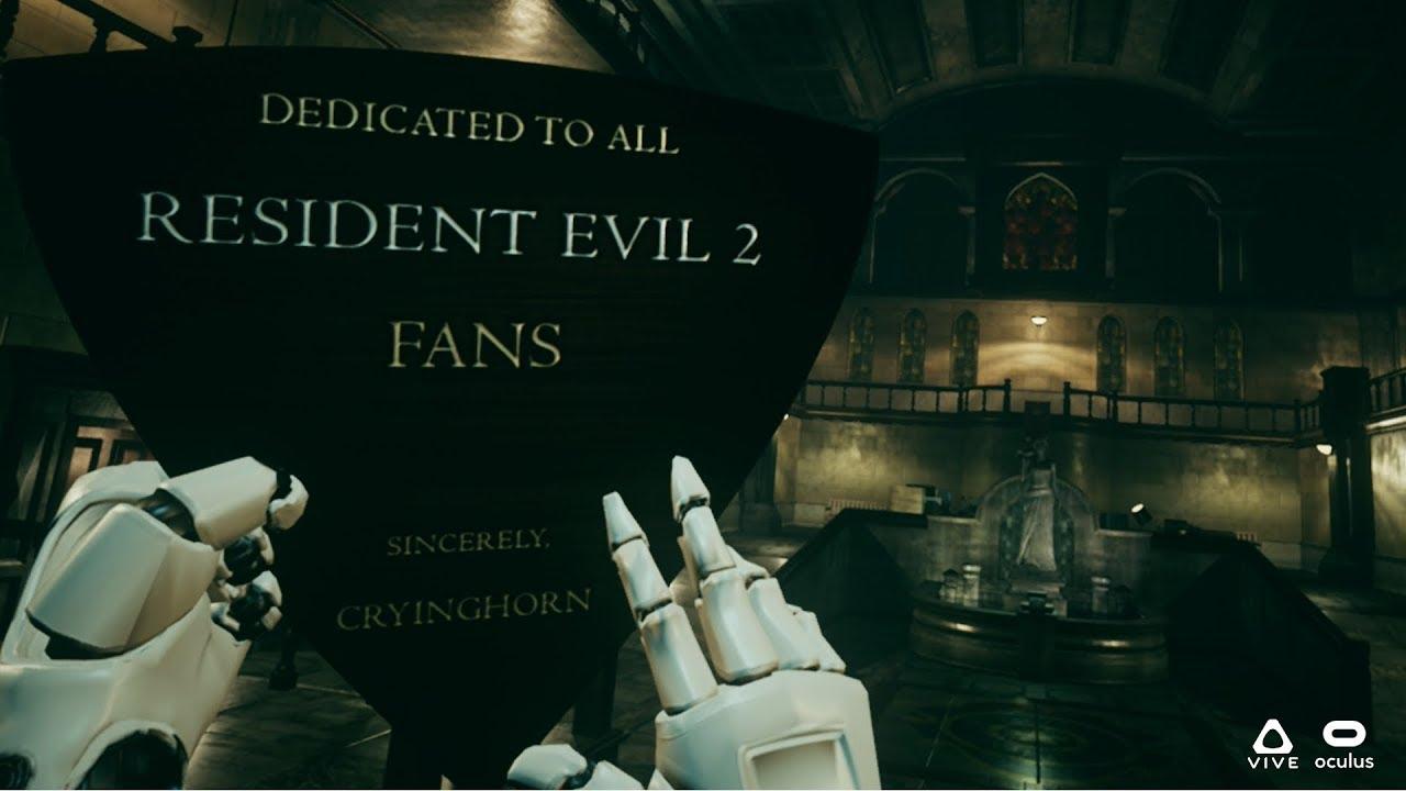 Resident Evil 2 Fan Remake En Realidad Virtual Resident Evil Rpd