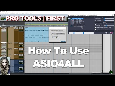 Pro Tools | First - How to use ASIO4ALL (AAE 6xxx Error, Interface Errors)