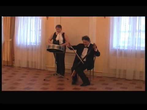 The Saw & The Steel Drum (Sergey Vyatkin & Irina Sidorova, Moscow) Марш Мендельсона