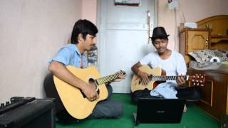 Sora barse umerai ma (Cover by Ashutosh and Bigul)