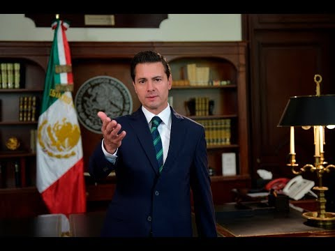 Mensaje del presidente Enrique Peña Nieto sobre la relación México Estados Unidos