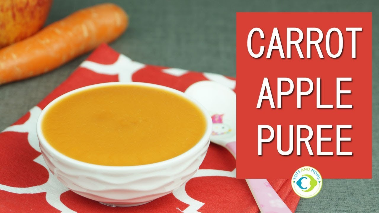 Carrot apple puree for babies baby food recipe youtube carrot apple puree for babies baby food recipe forumfinder Choice Image