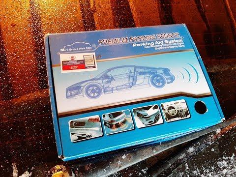 Как установить парктроник на ВАЗ. 2110, 2112, 2111... КОЛХОЗИМ)