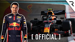 Why Red Bull chose Perez for F1 2021 and what to expect against Verstappen