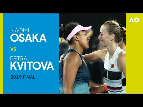 Naomi Osaka Vs Petra Kvitova Australian Open 2019 Final   AO Classics