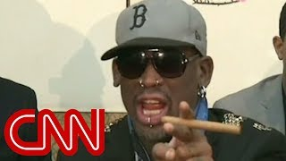 Dennis Rodman gets fiery with CNN's Chris Cuomo