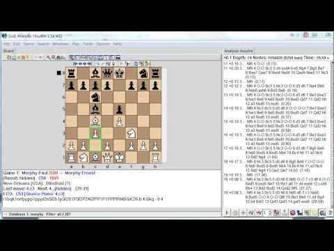 Study Chess Games with SCID database - YouTube