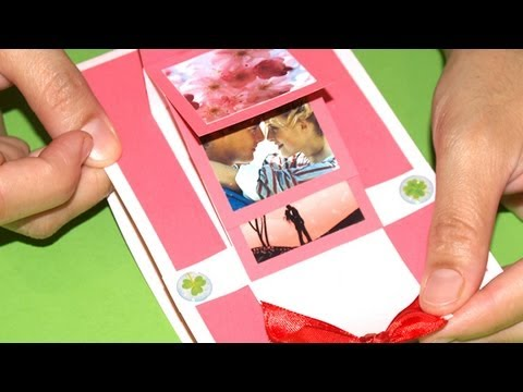 Tarjeta en Cascada - DIY - Waterfall Card (English Sub)