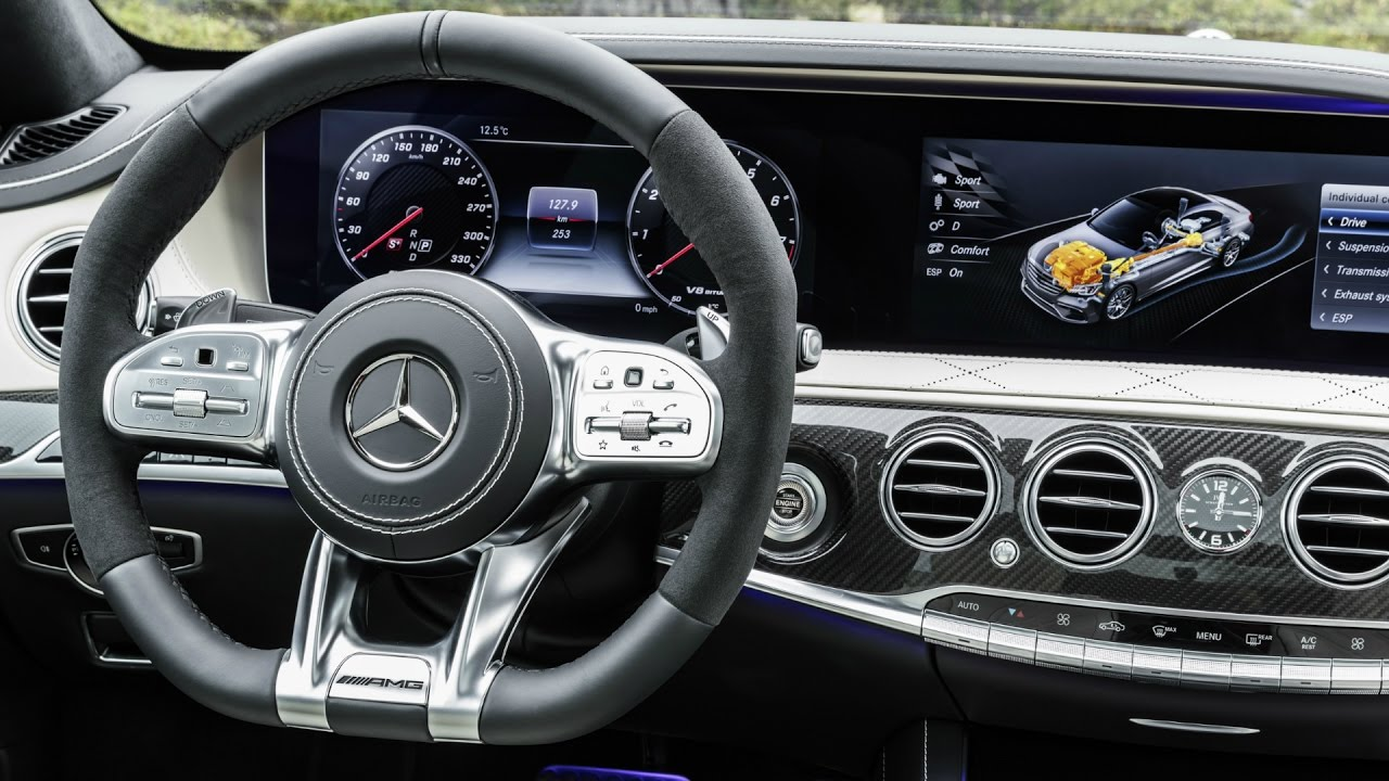 C63 Amg Coupe 2018 >> 2018 Mercedes S 63 AMG 4MATIC+ Facelift - Interior - YouTube
