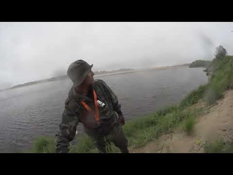 Рыбалка в Архангельской области на реке Вага.