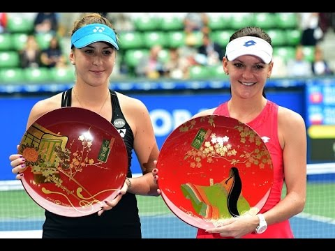 2015 Toray Pan Pacific Open Final WTA Highlights | Agnieszka Radwanska vs Belinda Bencic