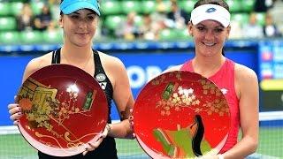 2015 Toray Pan Pacific Open Final WTA Highlights | Agnieszka Radwanska vs Belinda Bencic