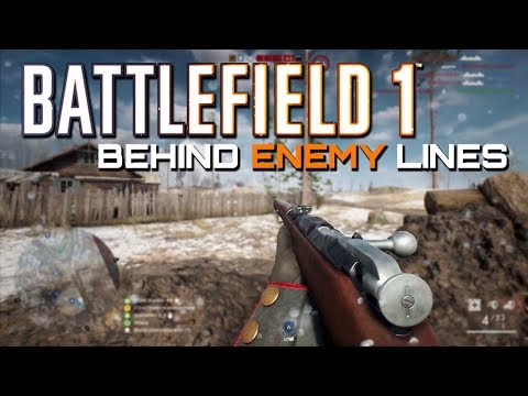 Battlefield 1: 75 Kills - Behind Enemy Lines on In the name of the Tsar DLC (PS4 PRO Gameplay)
