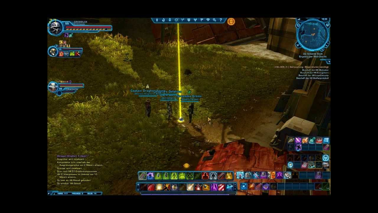 SWTOR HK-51 Guide Taris - YouTube