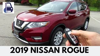 2019 Nissan Rogue SV AWD In Depth Detailed Walk Around and Review