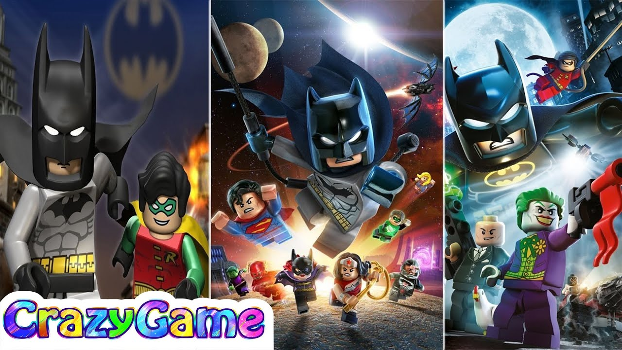 Evolution of #LEGO #Batman Animation - LEGO Batman 1, 2 ...