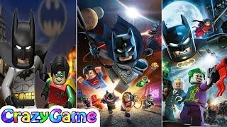 Evolution of #LEGO #Batman Animation - LEGO Batman 1, 2 and 3