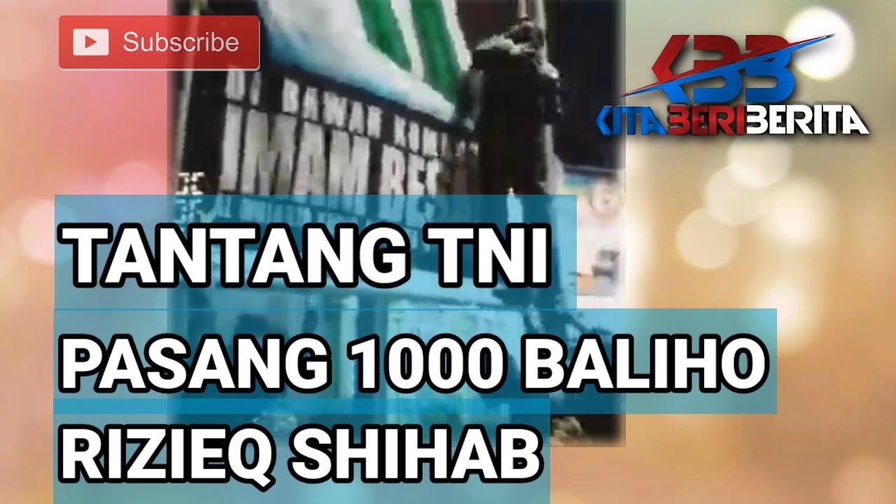 Download PEMUDA INI TANTANG PASANG 1000 BALIHO HABIB RIZIEQ!! TERNYATA SIMPATISAN FPI