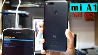 xiaomi Mi A1 Hard Reset (wipe data factory reset)
