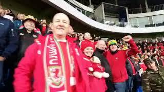 Wales national team fans in Baku