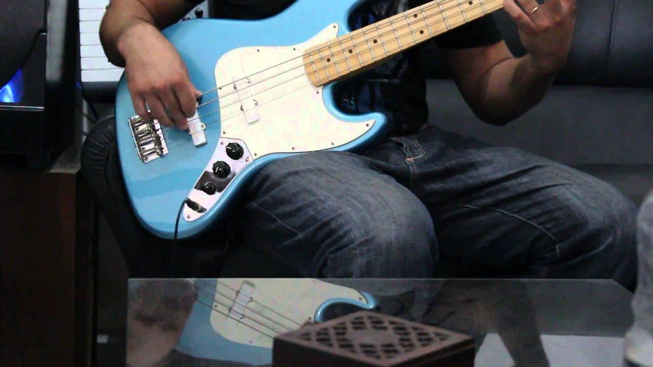 fender jazz bass emg pickups ismael viera youtube. Black Bedroom Furniture Sets. Home Design Ideas