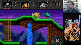 THE LOST VIKINGS (Megadrive / SNES) - Los inicios de Blizzard || Gameplay en Español
