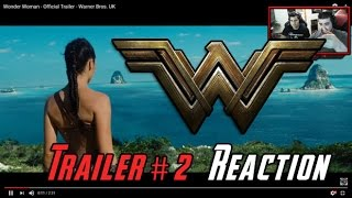Wonder Woman Trailer 2 Angry Reaction