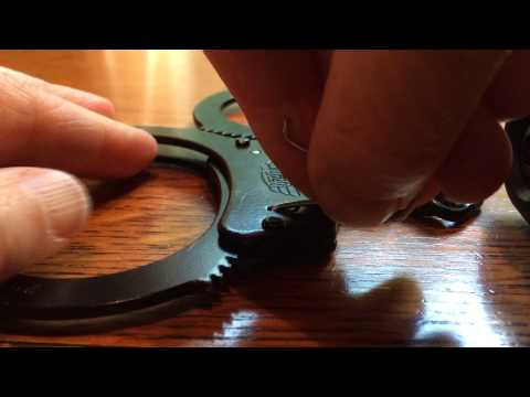 How to unlock handcuffs with a binder clip