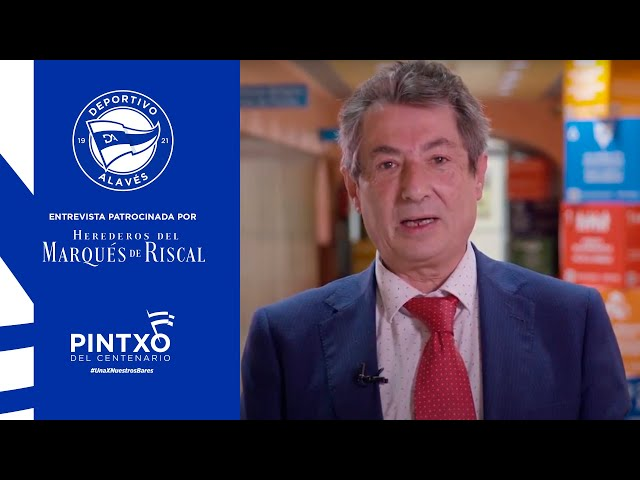 En homenaje a Alberto López Ipiña, Jurado del Pintxo del Centenario | Presidente Slow Food Araba