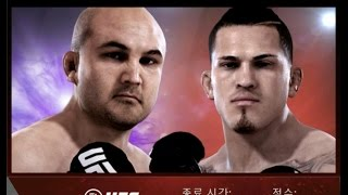 EA SPORTS UFC - (ANDROID/IOS) PENN vs PETTIS middleweight gameplay /gaming tips 1080p HD