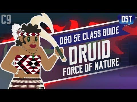 D&D 5e Druid Class Guide ~ Kia Ora Koutou Katoa, Wanna Feel Mother Nature's Tough Love?