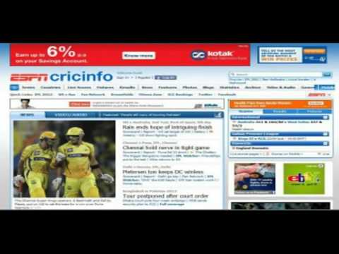 Cricinfo Cricket  Score and Live Cricket Updates Online! 2