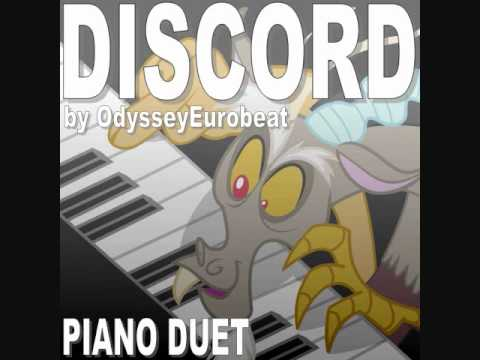 Discord (OdysseyEurobeat) Cover For Piano Duet