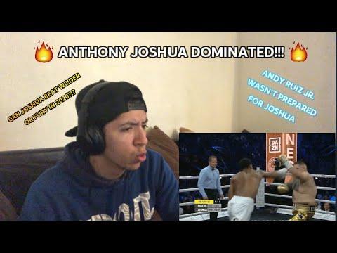 ANTHONY JOSHUA VS ANDY RUIZ JR 2  (REACTION) [FIGHT ANAYLSIS]