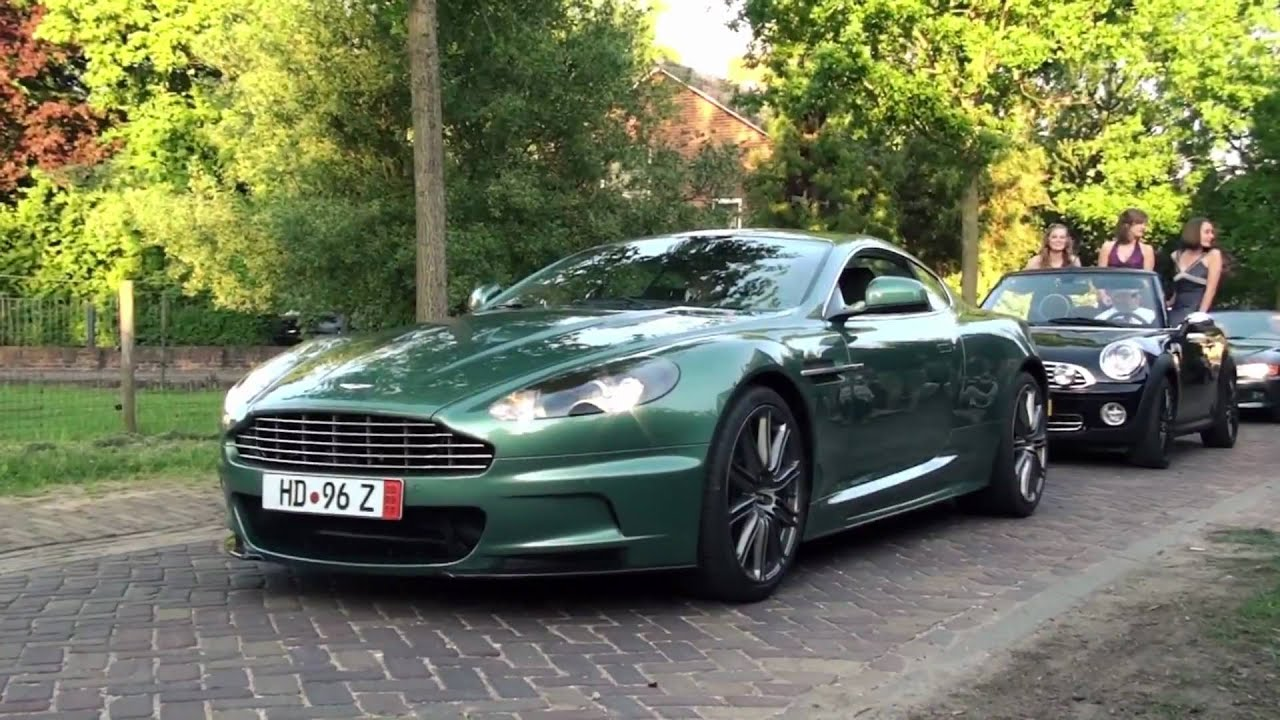 aston martin dbs sound!! revs + acceleration! - 1080p hd - youtube