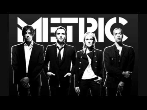 METRIC - GOLD GUNS GIRLS  (with lyrics)