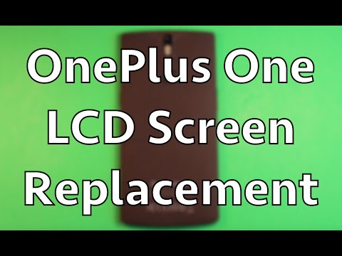 OnePlus One Screen Replacement Repair How To Change