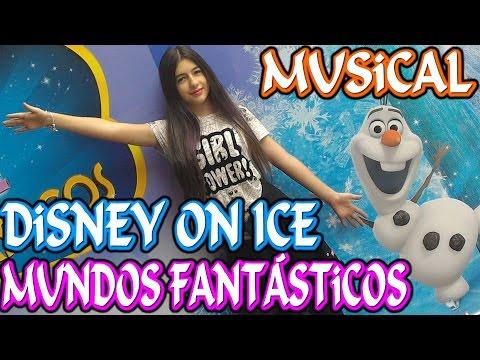 Disney On Ice Teatro Musical Mundos Fantásticos com Patinação no Gelo