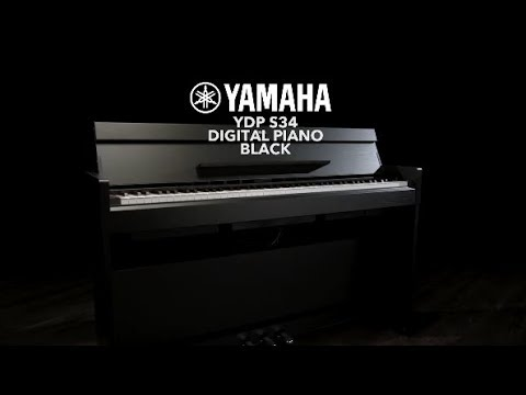 Yamaha YDP S34 Digital Piano, Black   Gear4music Demo
