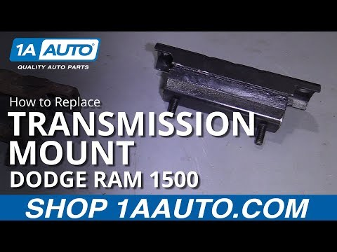 How to Replace Transmission Mount 94-02 Dodge Ram 1500