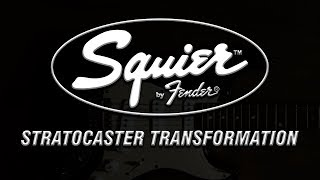 Squier Strat Transformation - Mods & More!