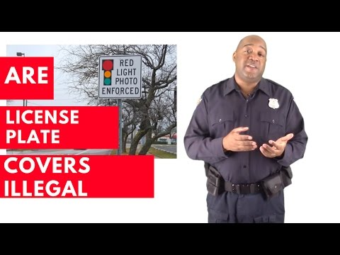 Are License Plate Covers Illegal | License Plate Cover