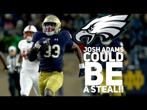 Eagles Sign UDFA Josh Adams (RB)...This Could Be Another Steal