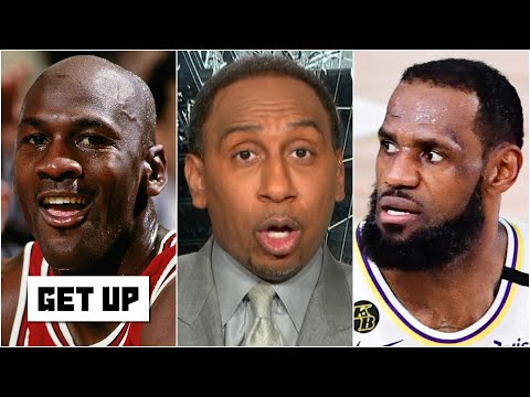 Stephen A. to LeBron: 'Consider yourself disrespected ... you'll never be my No. 1' over MJ | Get Up