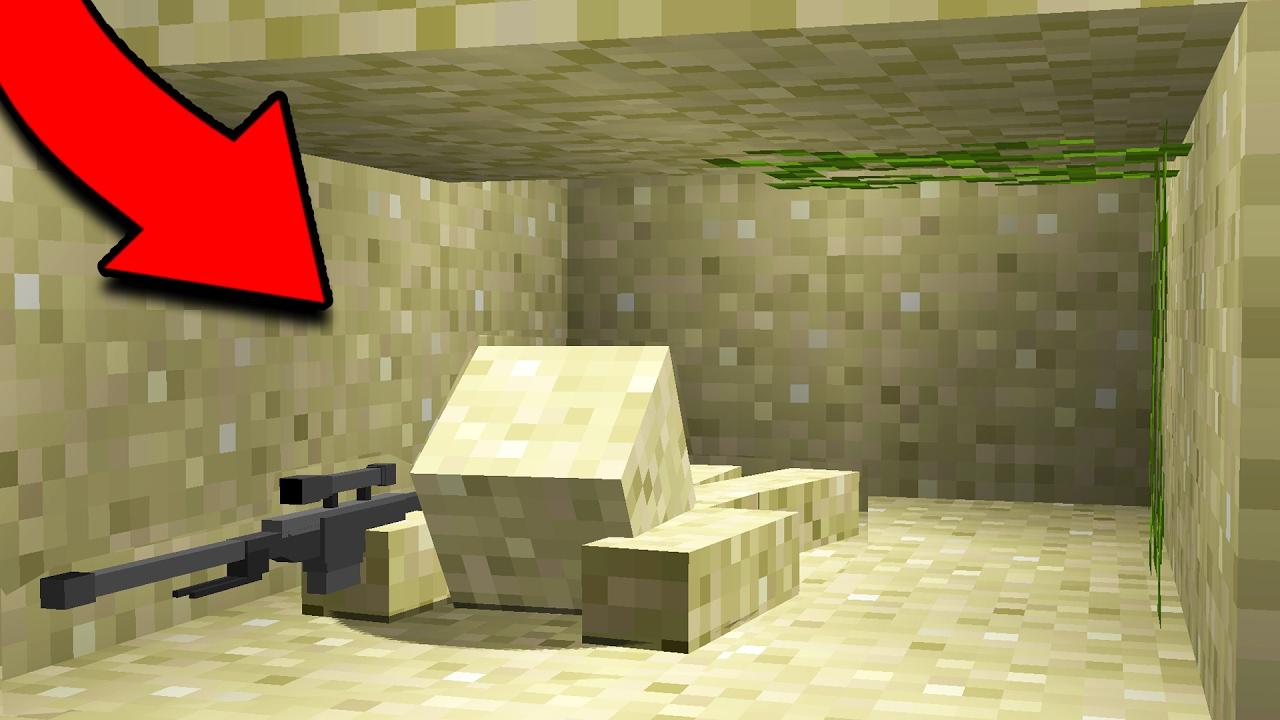 Invisible Minecraft Camo Sniper Battle Youtube