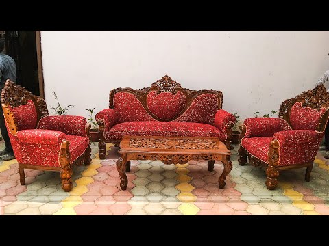 #148 Wood sofa at factory prices highest selling top quality home delivery @Aarsun woods