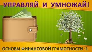 Управление личными финансами. Урок 1. Основы финансовой грамотности