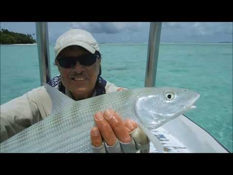 Fly Fishing From Cook Islands Flats Boat