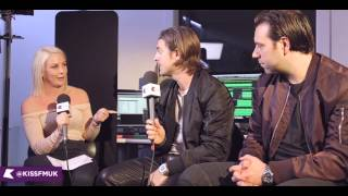Axwell /\ Ingrosso Interview | Charlie Hedges | KISS