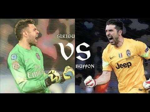 Salvatore Sirigu VS Gianluigi Buffon // Top Best saves 2013/2016